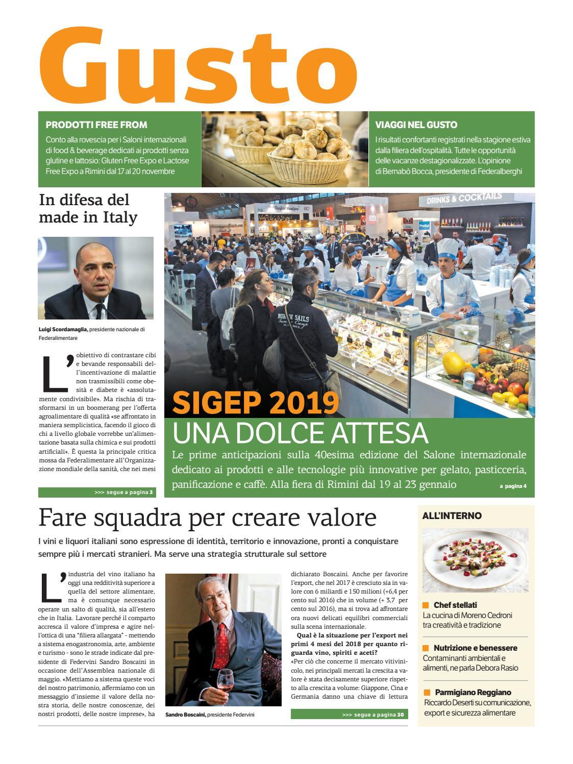 Gusto-Ott-2018 by Golfarelli Editore International Group - issuu fafb2463b731