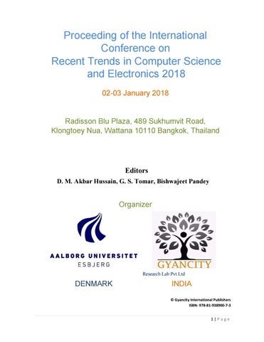 4th International Conference On Recent Trends In Computer Science