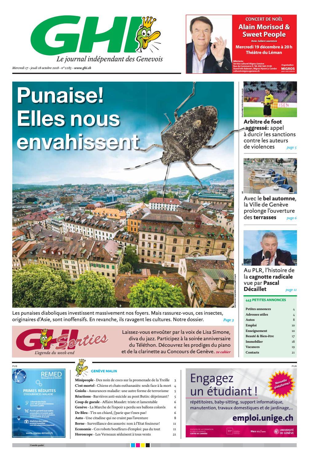 GHI - 17.10.2018 / CLIENTS by GHI & Lausanne Cités - issuu