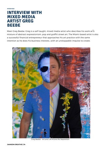 Page 35 of Interview with mixed media artist Greg Beebe