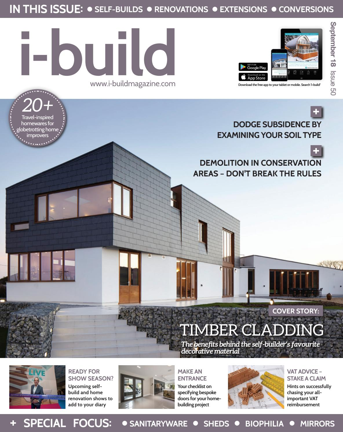 i-build September 2018 by Cross Platform Media Ltd  - issuu