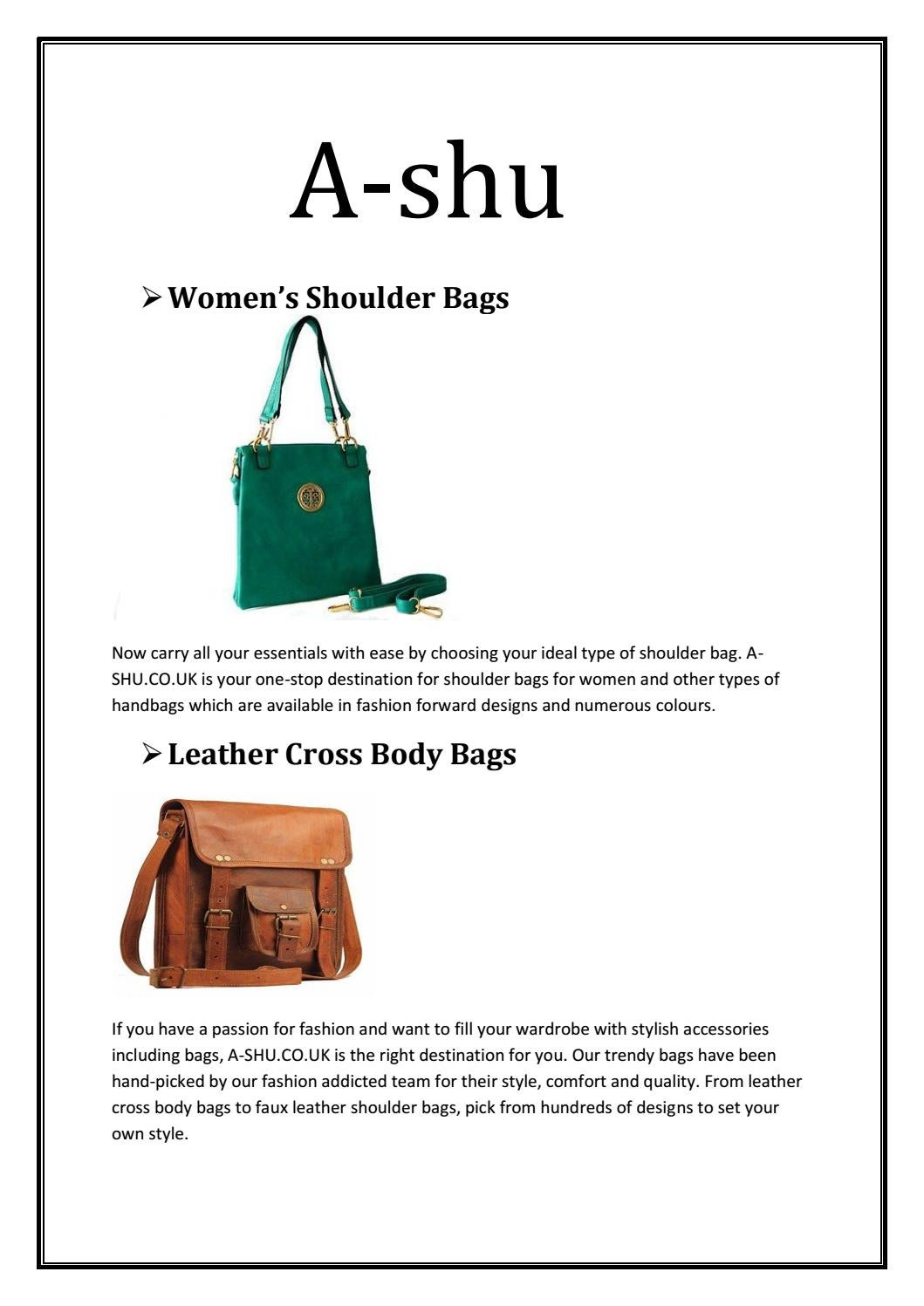 Top Womens Handbags In Uk By A Shu Co