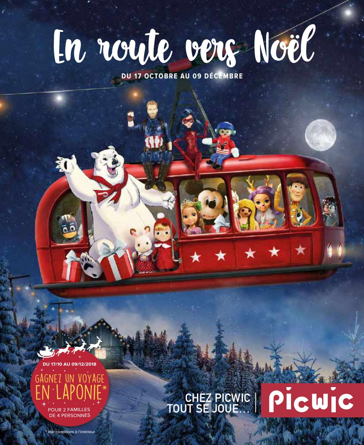 Catalogue Jouets Noel 2018 Picwic By Yvernault Issuu