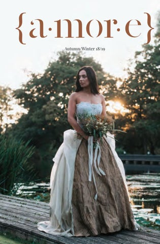 a519e70ddfe Amore Wedding Magazine launch issue Autumn Winter 18