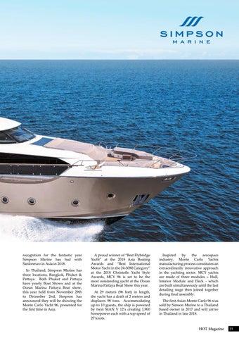 Page 21 of Simpson Marine's Ocean Marina Pattaya Boat Show Lineup