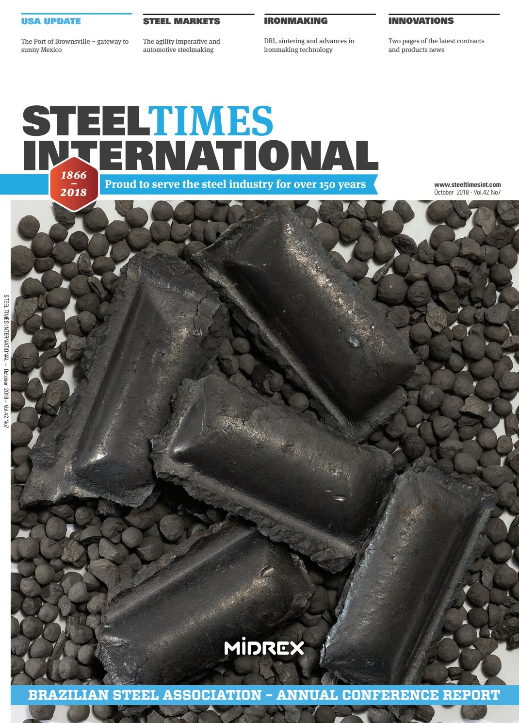 Steel Times International October 2018 by Quartz Business