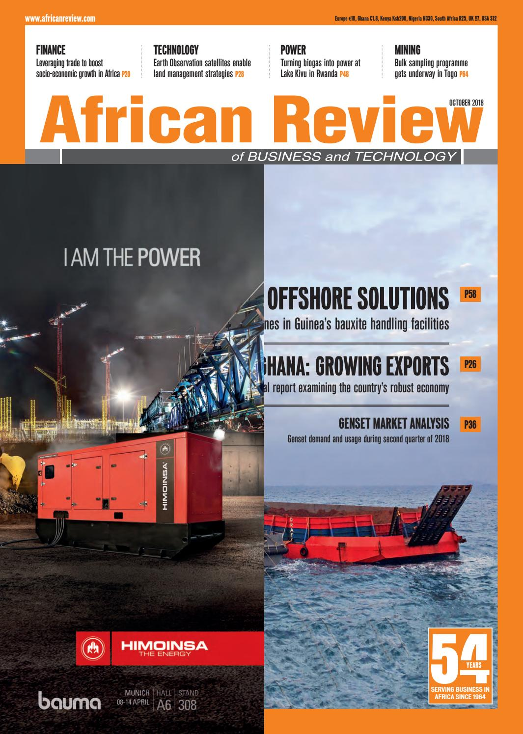 African Review October 2018