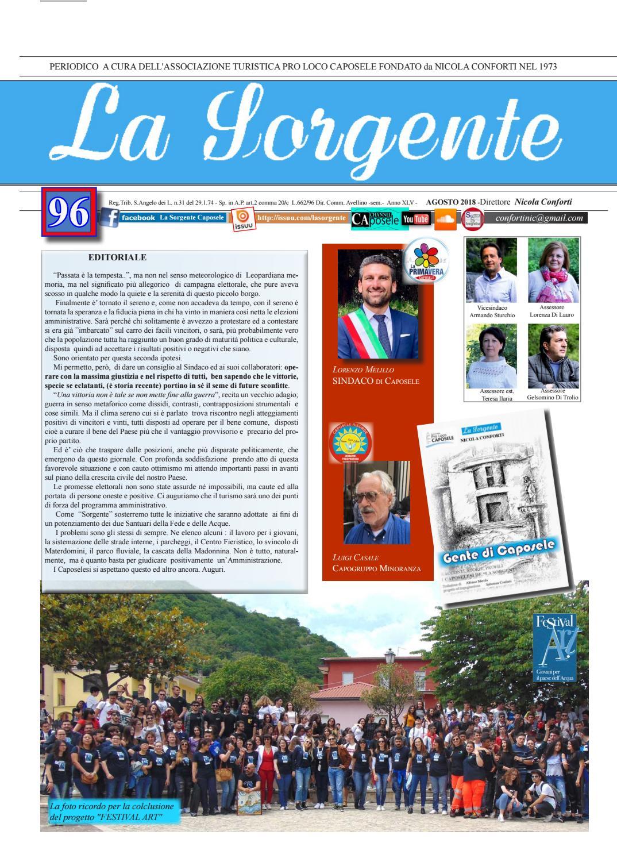 Sorgente 96 By Periodico La Sorgente Issuu