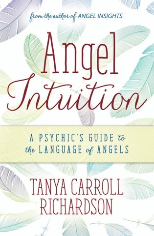 Angel Intuition, by Tanya Carroll Richardson by Llewellyn