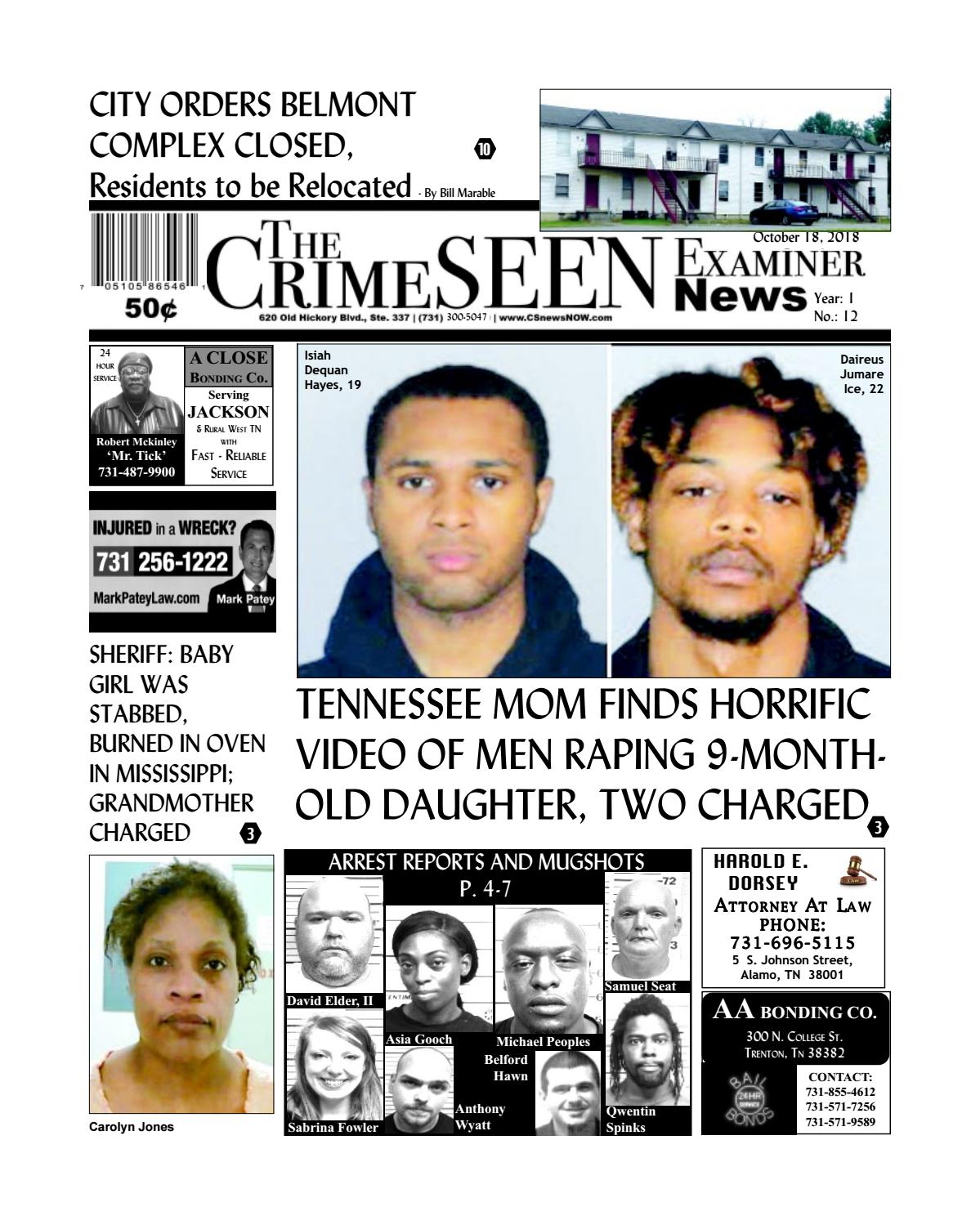The Crimeseen Examiner News October 18 2018 By Crimeseen Examiner Issuu