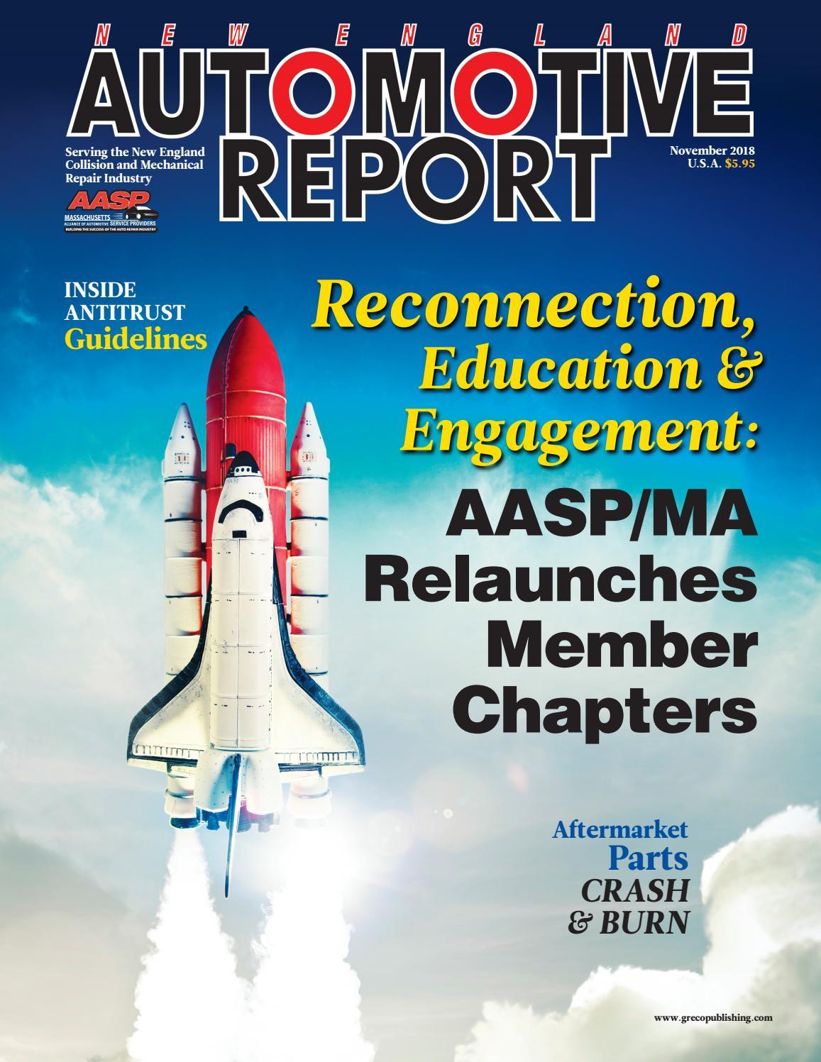 New England Automotive Report November 2018 by Thomas Greco