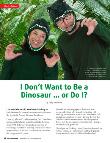 Page 40 of I Don't Want to Be a Dinosaur ... or Do I?