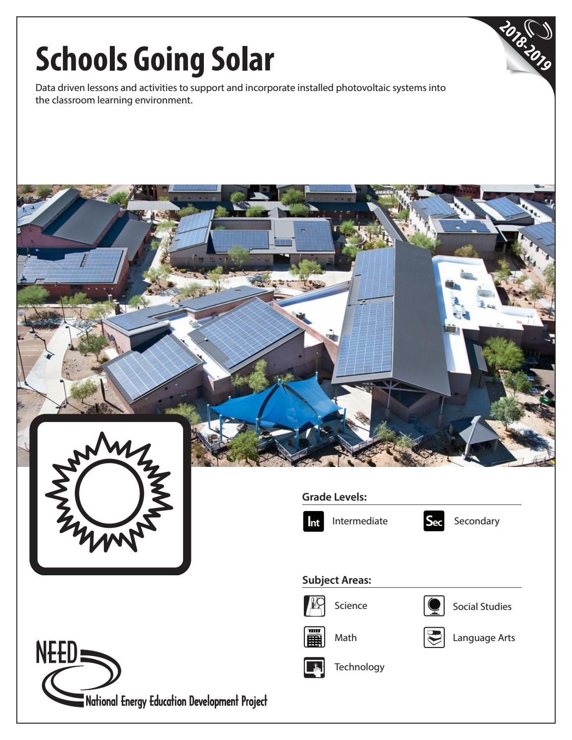 Schools Going Solar By Need Project Issuu Tesla Radiant Energy Collector Schematic Get Free Image About Wiring