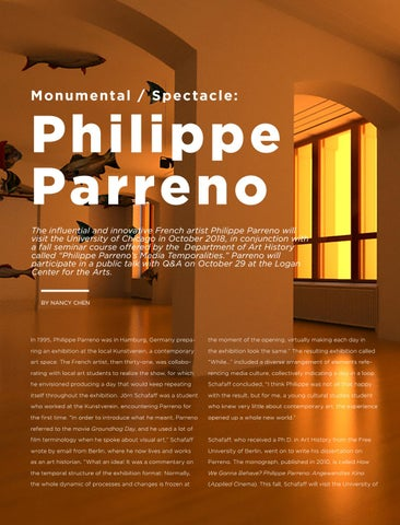 Page 14 of Monument/Spectacle: Phillipe Parreno