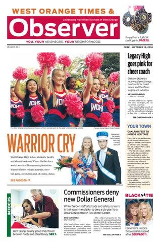 030ef31c46ce1 10.18.18 West Orange Times & Observer by Orange Observer - issuu