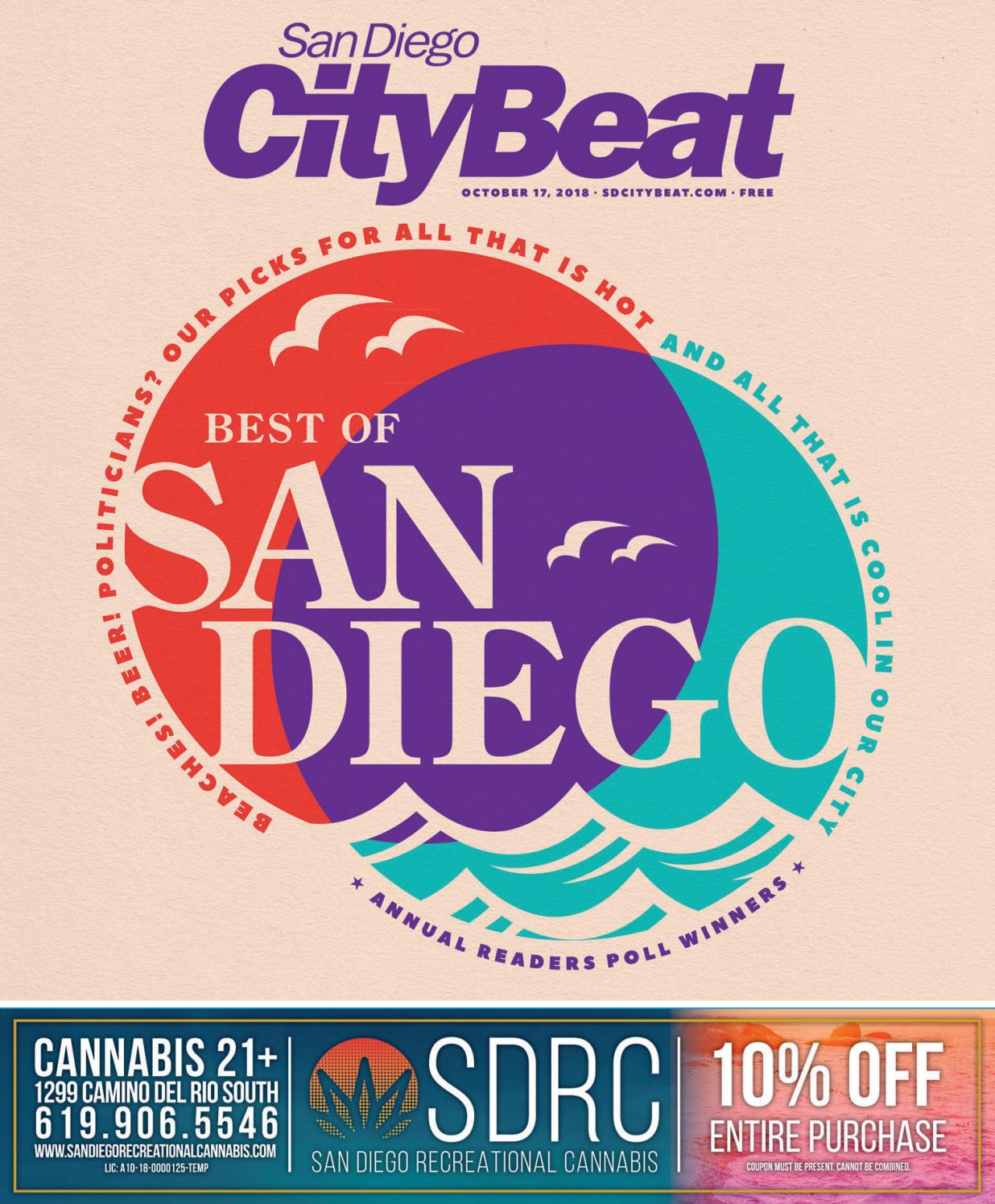 San Diego CityBeat • Oct 17 70367be57ccd2