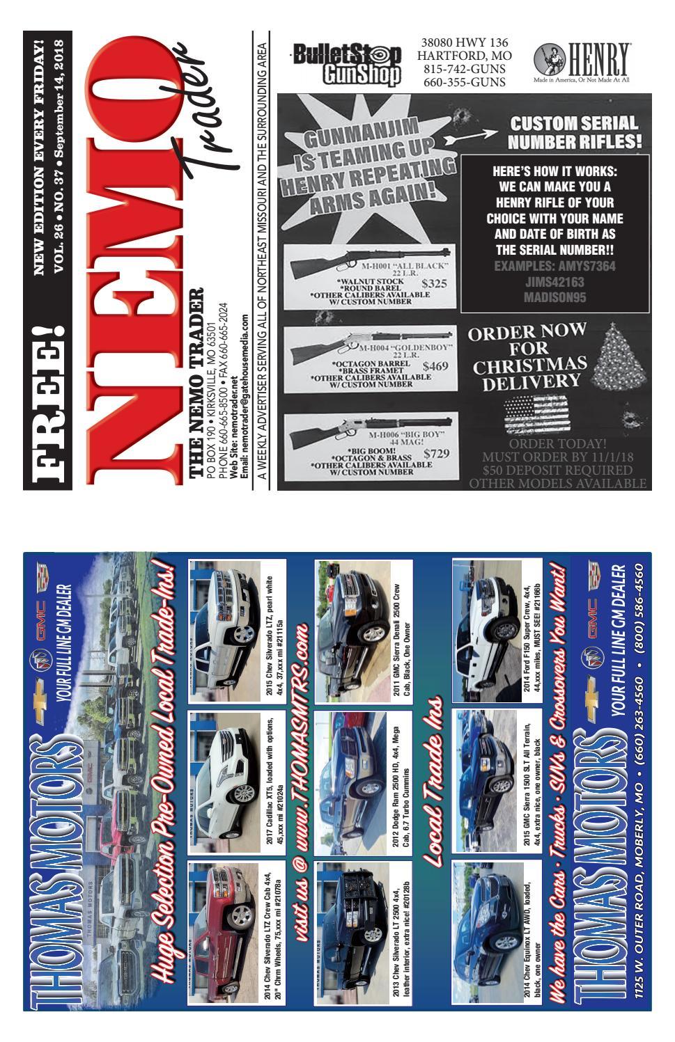 NEMO Trader September 14th, 2018 by NEMO Trader - issuu