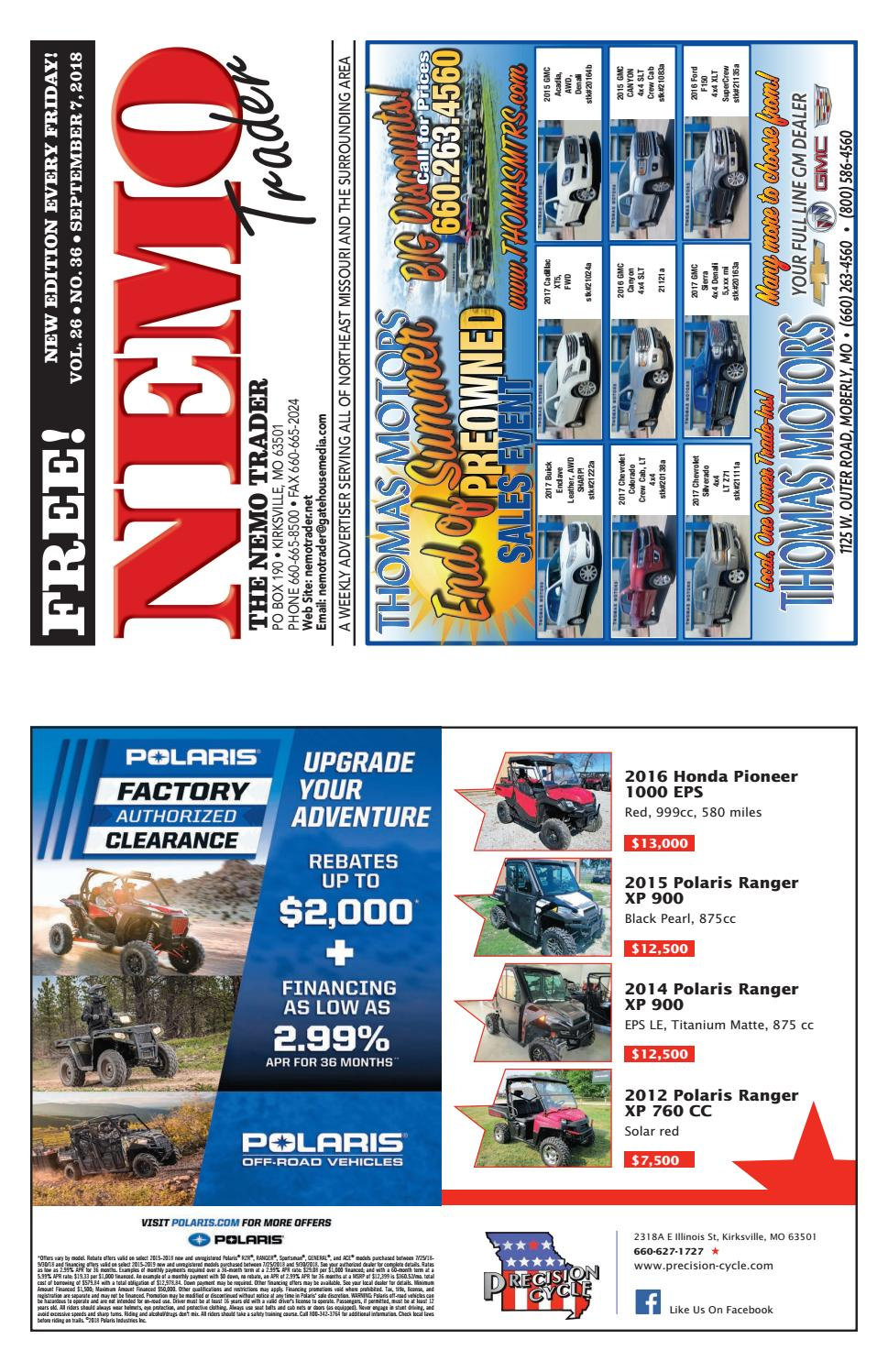 NEMO Trader September 7th, 2018 by NEMO Trader - issuu