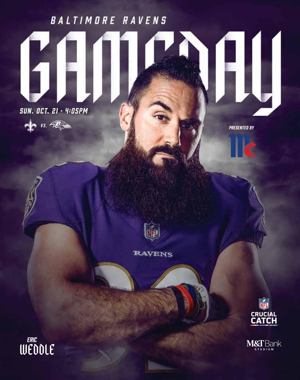 Week 7  New Orleans Saints vs. Baltimore Ravens by Baltimore Ravens ... a71e15b12