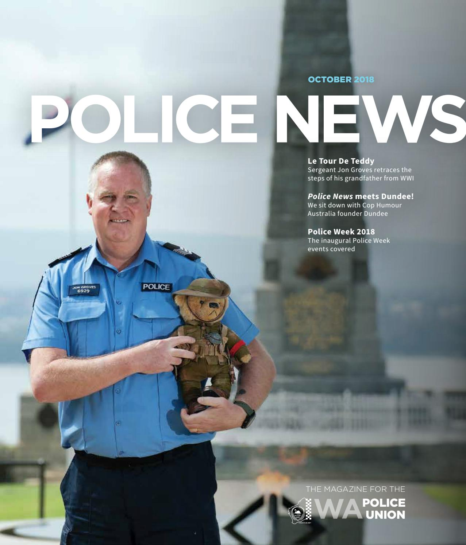 2317a31c513 WAPU Police News October 2018 by WA Police Union - issuu