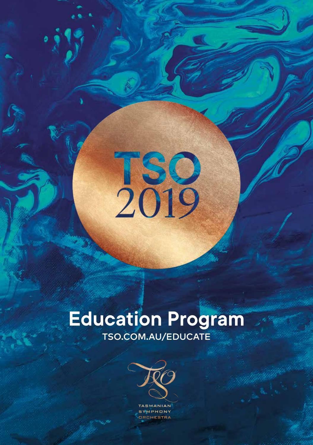 Tasmanian Symphony Orchestra 2019 Education Program by