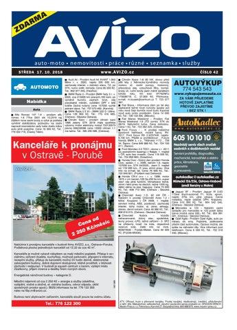 AVÍZO č. 42 2018 by AVÍZO - issuu edb90ba539