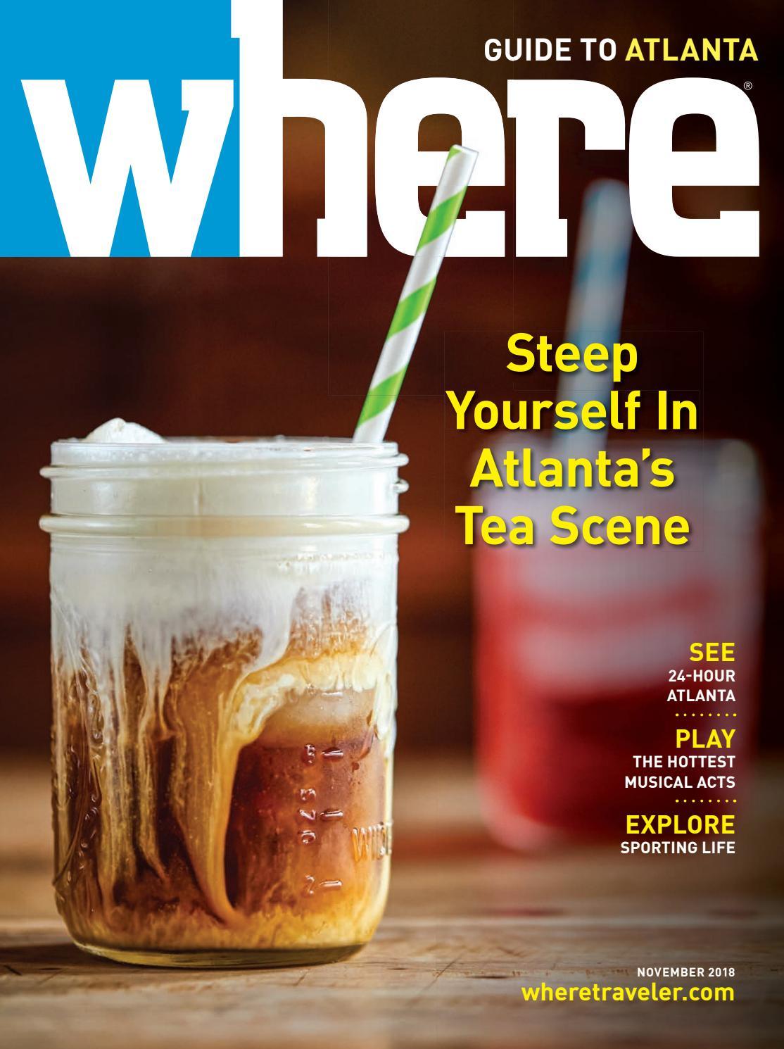 Where Magazine Atlanta Nov 2018 By Morris Media Network Issuu