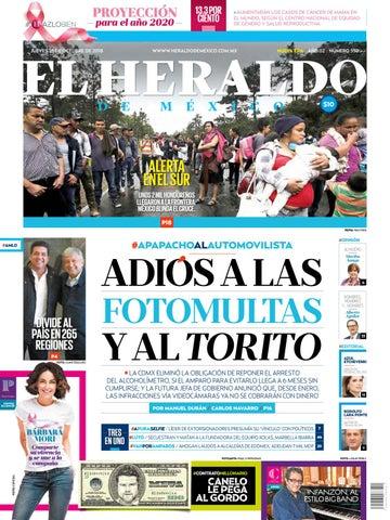 d633894645 18 de octubre de 2018 by El Heraldo de México - issuu