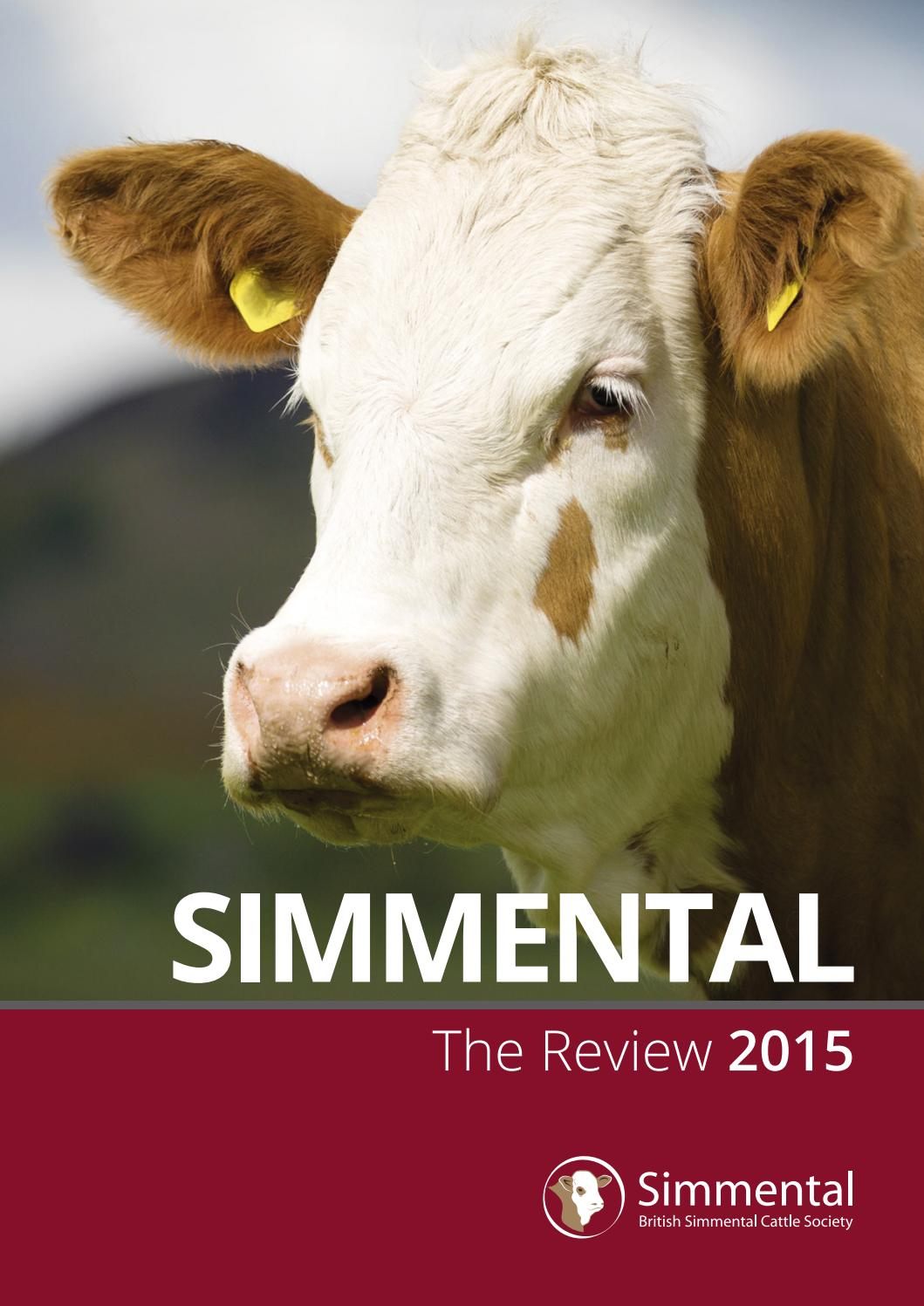 f99394dff0 Simmental Annual Review 2015 by British Simmental Cattle Society - issuu