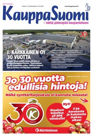 KauppaSuomi 42 2018 (K-P) by KauppaSuomi - issuu 8bca9016ac