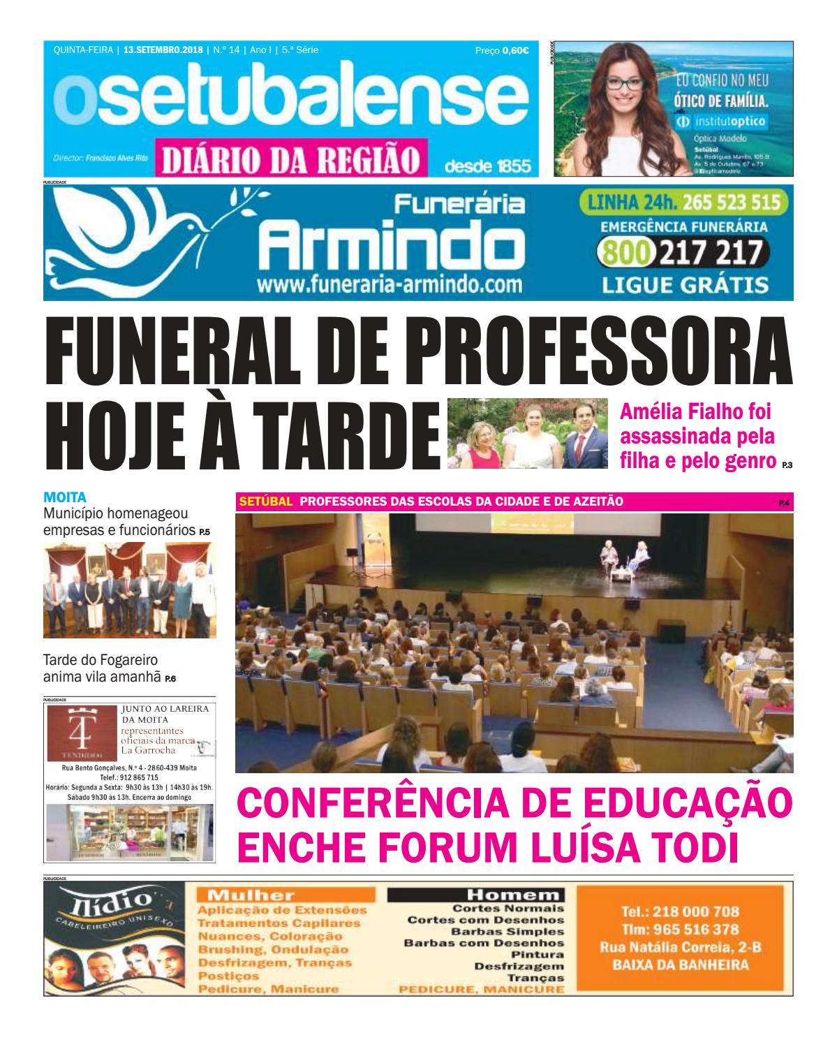 O Setubalense, diário da região nº 14 by O Setubalense - issuu fbf019098c