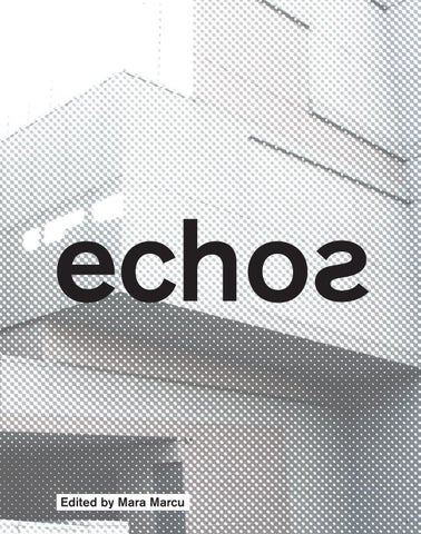 Echos by Actar Publishers - issuu