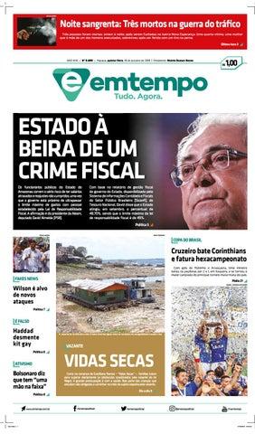 Em Tempo - 18 de Outubro de 2018 by Amazonas Em Tempo - issuu 2bc6304ae0aea