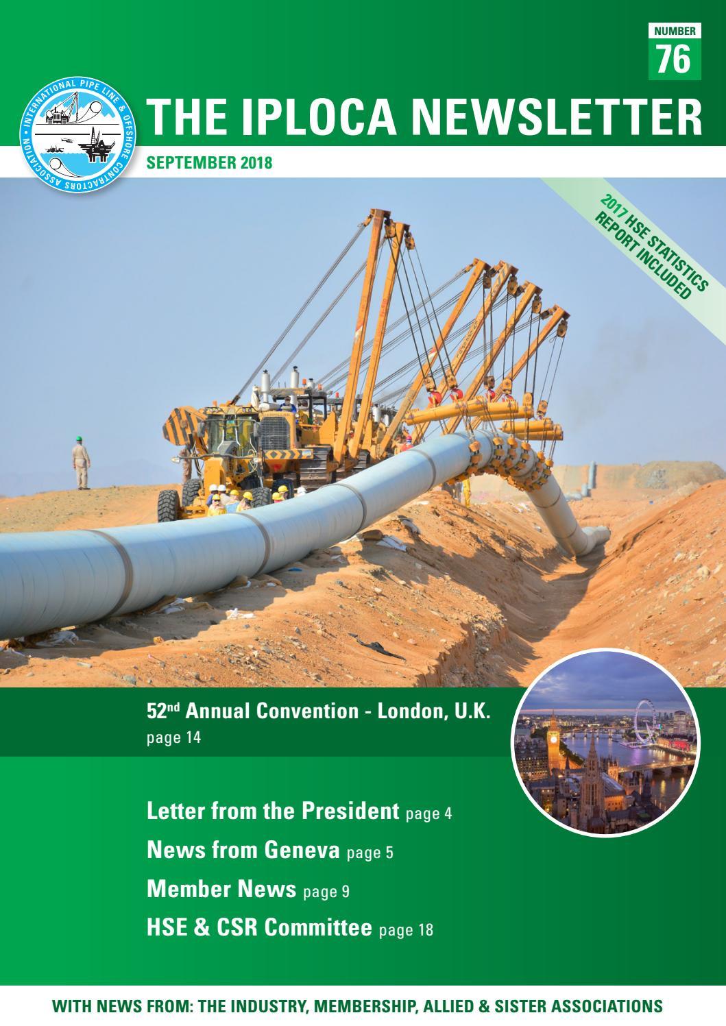 IPLOCA Newsletter 76 by Pedemex BV - issuu