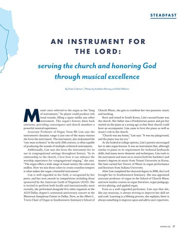 Page 39 of An Instrument for the Lord: serving the church and honoring God through musical excellence