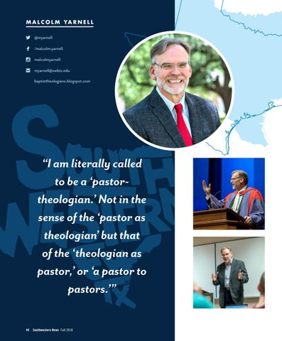 Page 46 of Pastor-Theologian: a minister to ministers