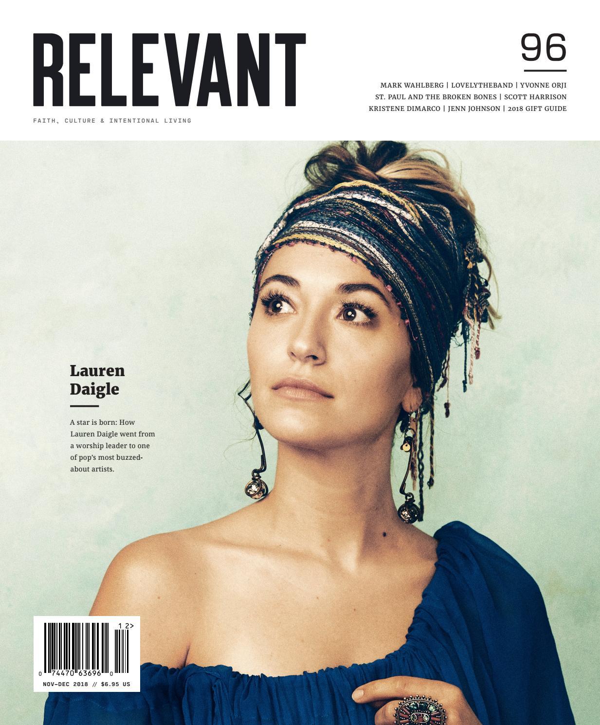 RELEVANT - Issue 96 - November/December 2018 by RELEVANT