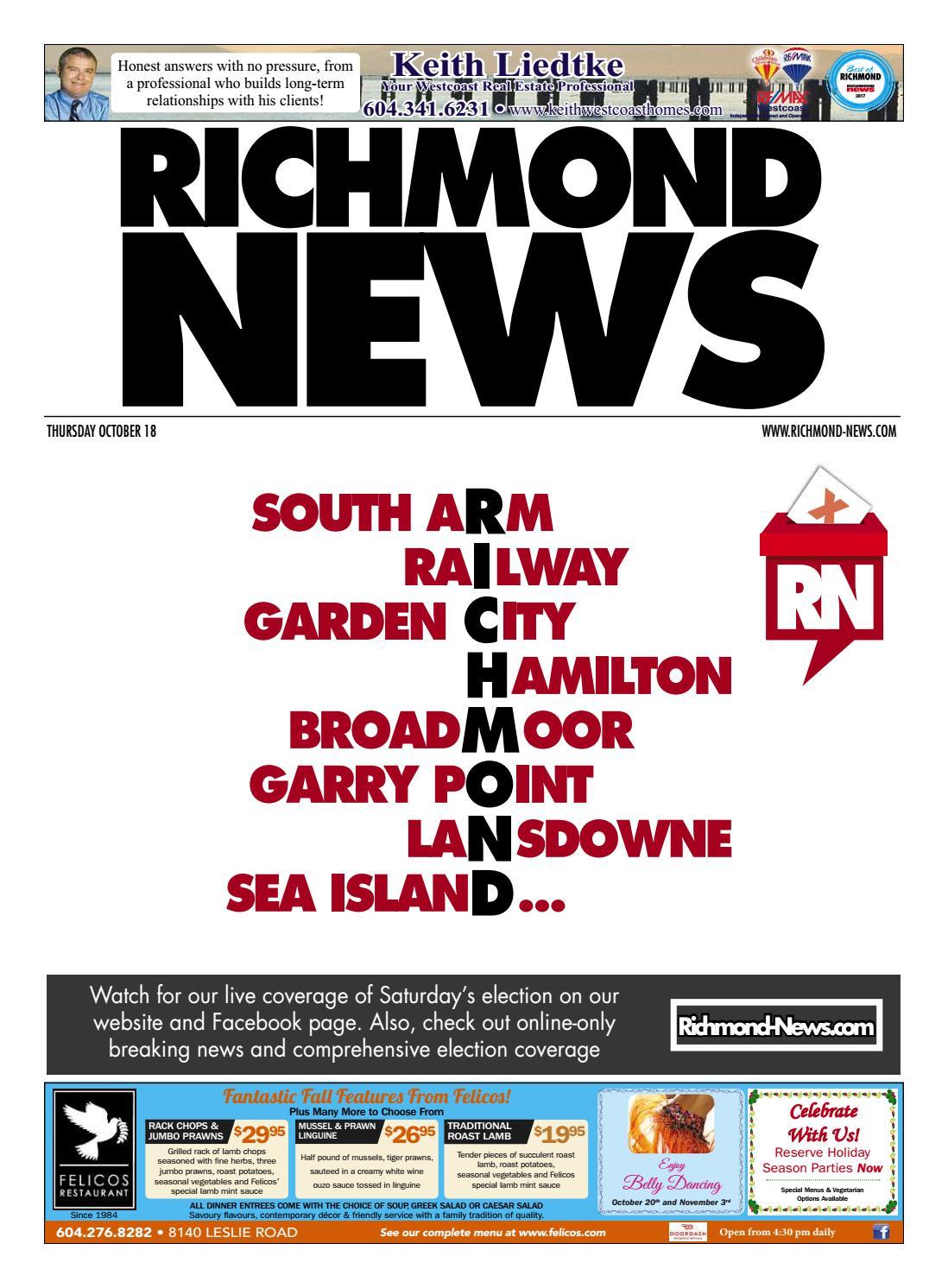 cheaper b716b a6eca Richmond News October 18 2018 by Richmond News - issuu