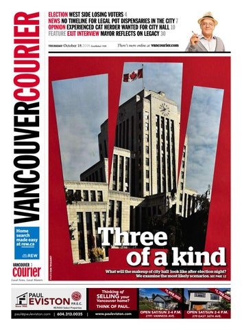 06d333da5a5 Vancouver Courier October 18 2018 by Vancouver Courier - issuu