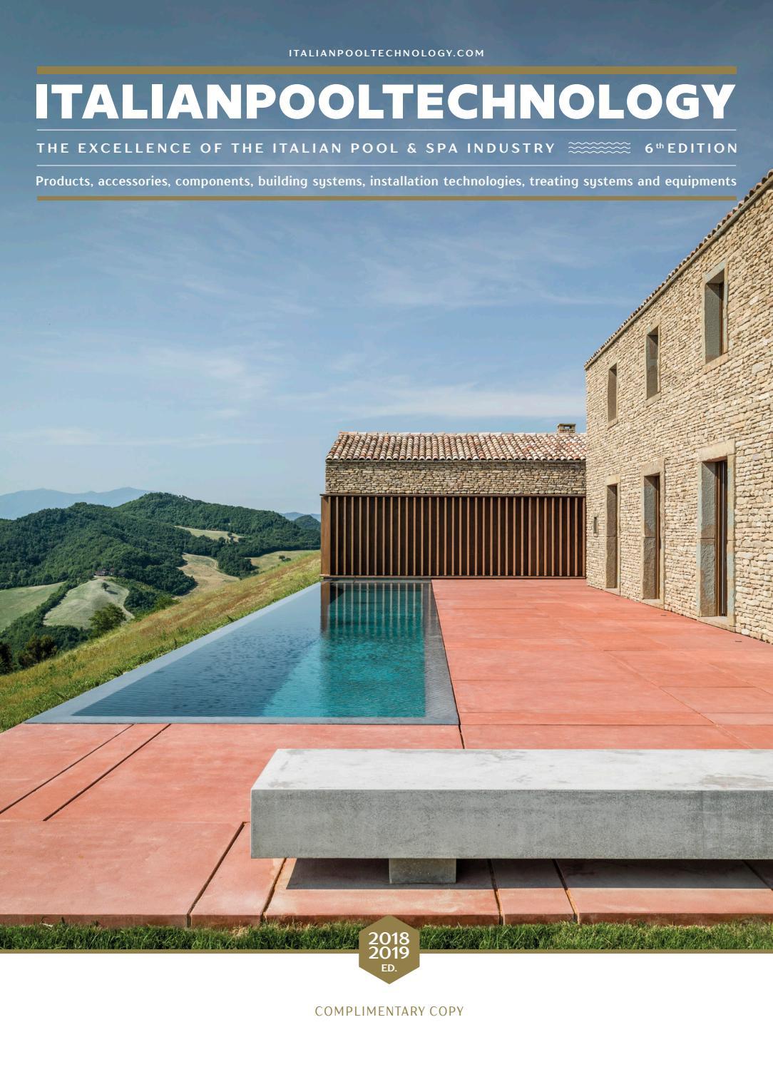 Foto Di Piscine Private italian pool technology 2018 by editrice il campo - issuu