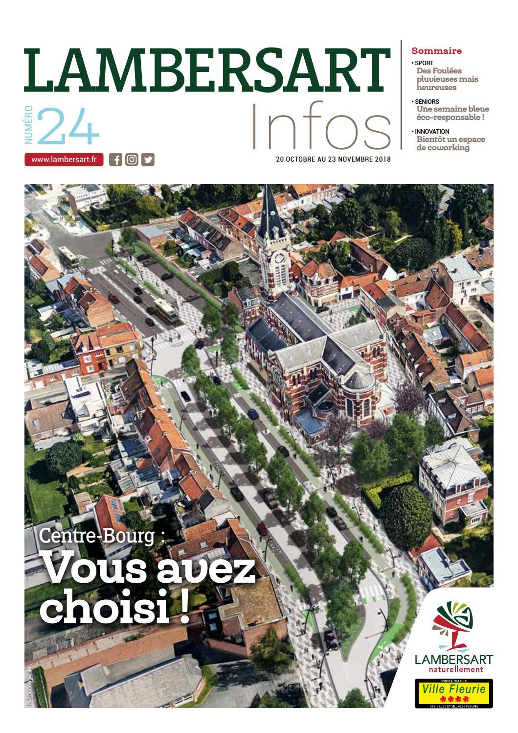Lambersart Infos Du 20 Octobre Au 23 Novembre 2018 By Mairie