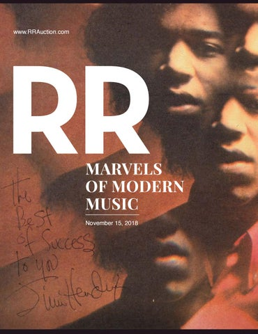 4cc3af09b97a0 RR Auction: Marvels of Modern Music November 2018 by RR Auction - issuu