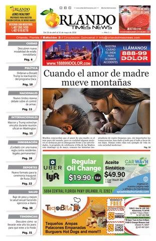 Edición 2 Orlando Times News by orlandotimesnews - issuu c58cd838245