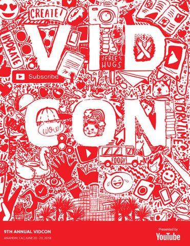 VidCon US 2018 Guide by VidCon - issuu