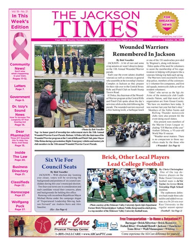 2d4231dea 2018-10-20 - The Jackson Times by Micromedia Publications Jersey ...