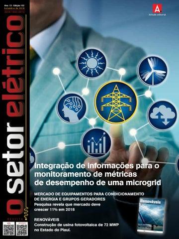 b9e3ff2c8c2 O Setor Elétrico (edição 152 - Set 2018) by Revista O Setor Elétrico ...