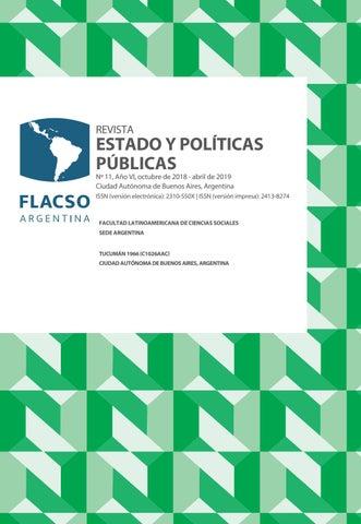 b9bb4f5652 Revista Estado y Políticas Públicas Nº11 by Emiliano - issuu