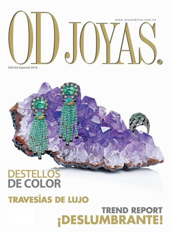 c5711f0a5543 OD JOYAS 2018 by Grupo Editorial Shop In 98 C.A. - issuu