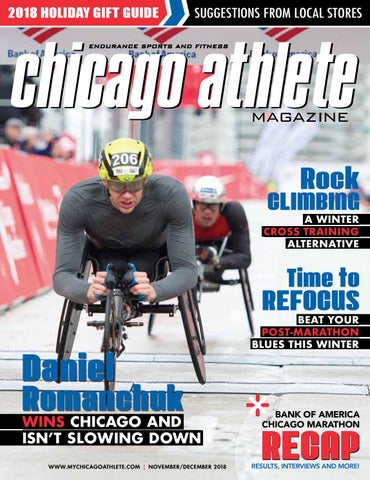 61d2195cfe Chicago Athlete Magazine November/December 2014 Issue by Kelli L - issuu