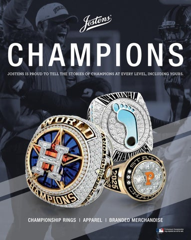 HS Championship Rings, Apparel and Merchandise Catalog by